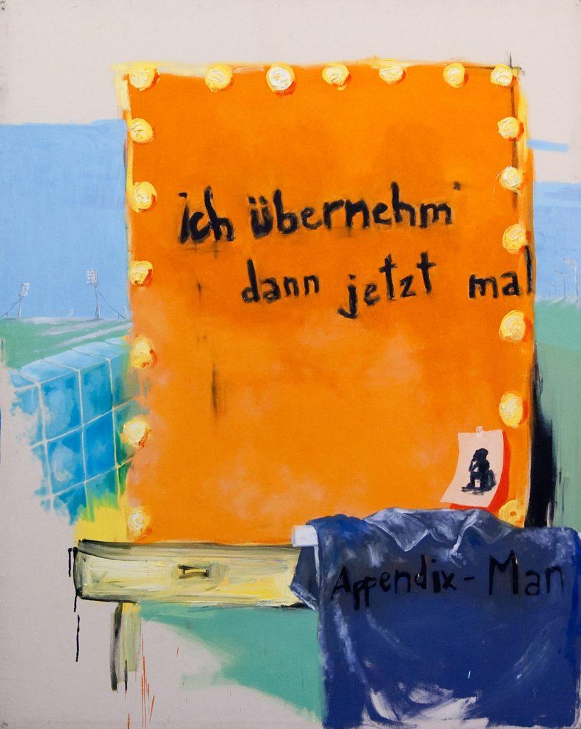 Sebastian Gahntz, Der Appendix-Man